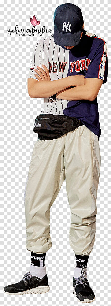 EXO Kai MLB transparent background PNG clipart.