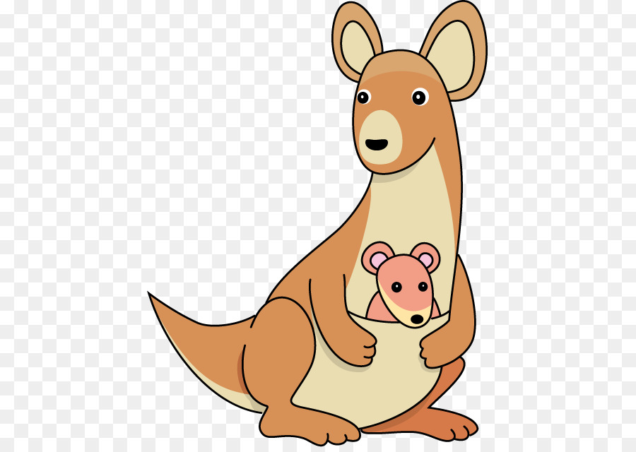 Kangaroo Cartoon png download.