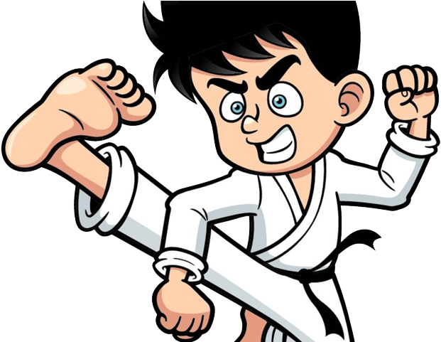 Martial Arts Clipart Karate Guy.