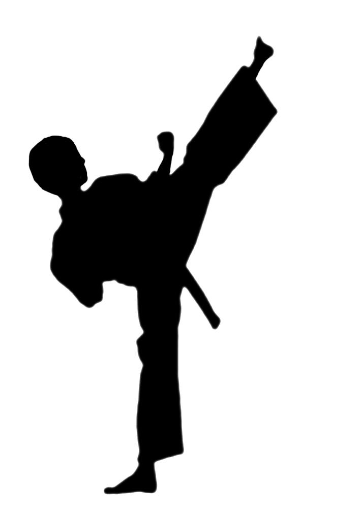 1792 Karate free clipart.