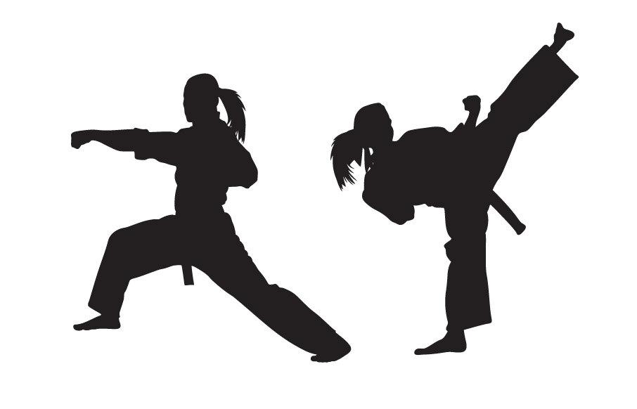 Martial Arts Logo Clipart.