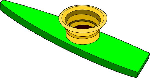 Green Kazoo Clip Art at Clker.com.