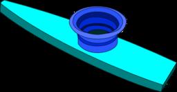 Color Wheel of Kazoo clipart.