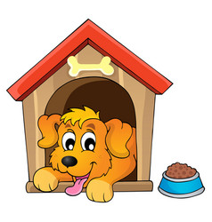 Dog Kennel Clipart Vector Images (41).