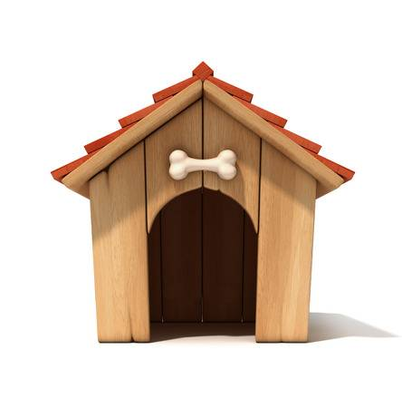 Clipart Of Kennel.