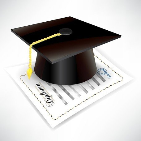 Mezuniyet kep ve Diploma Clipart Picture Free Download.
