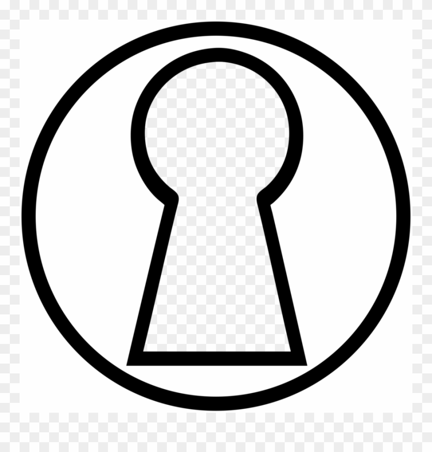 Key Hole Drawing Clipart Keyhole Drawing Clip Art.