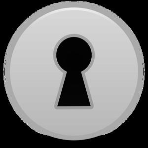 18 clip art keyhole.