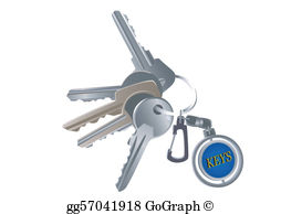 Keys Clip Art.