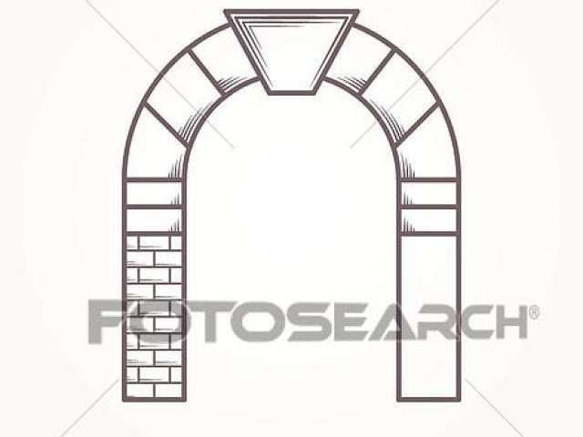 Arch Clipart keystone 5.