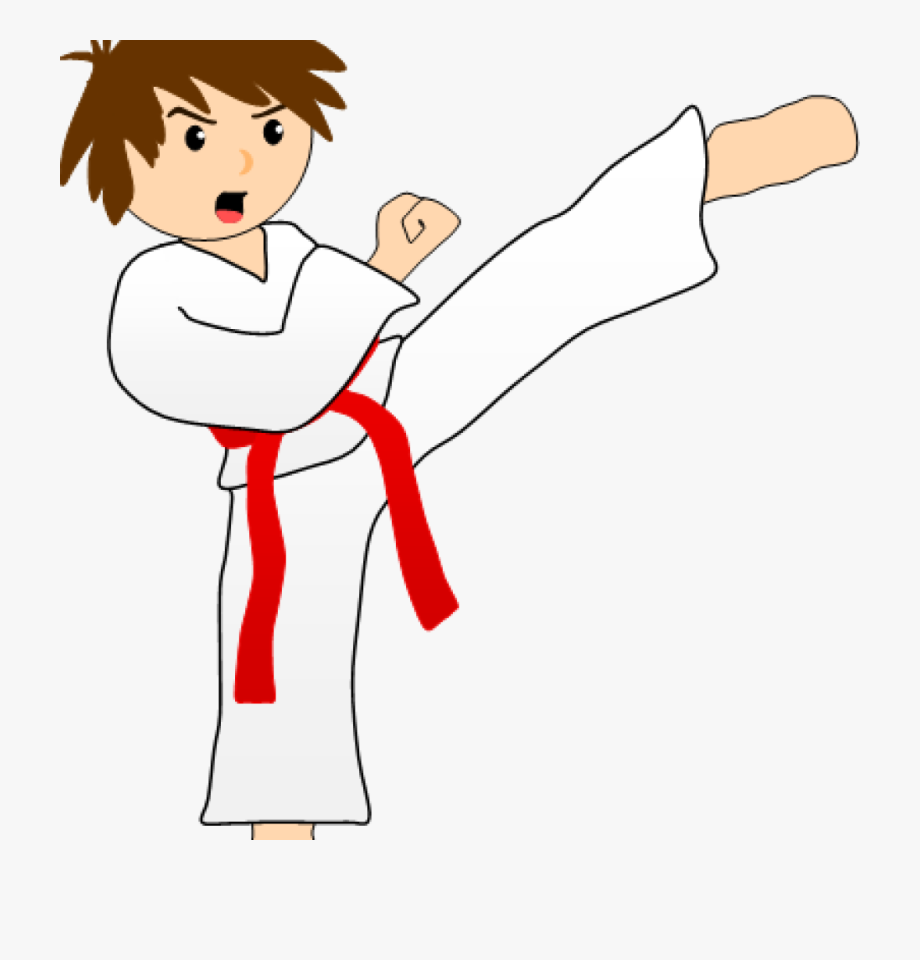 Taekwondo Kicks Clipart Png , Transparent Cartoon, Free.
