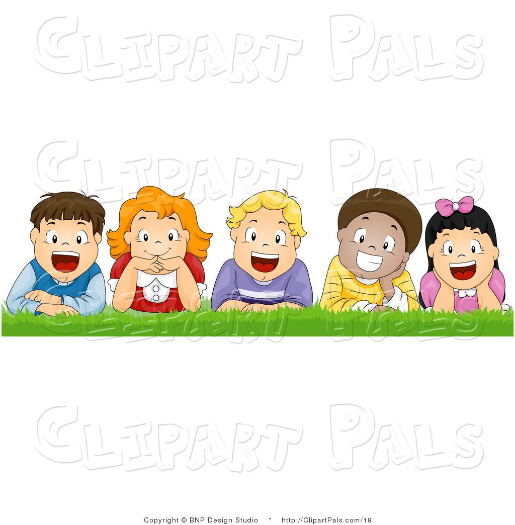 1492 Happy Kids free clipart.