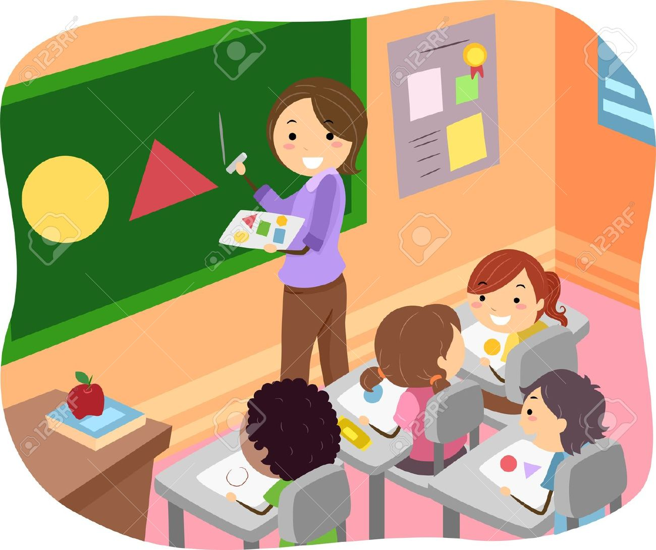 clipart kid in classroom - Clipground