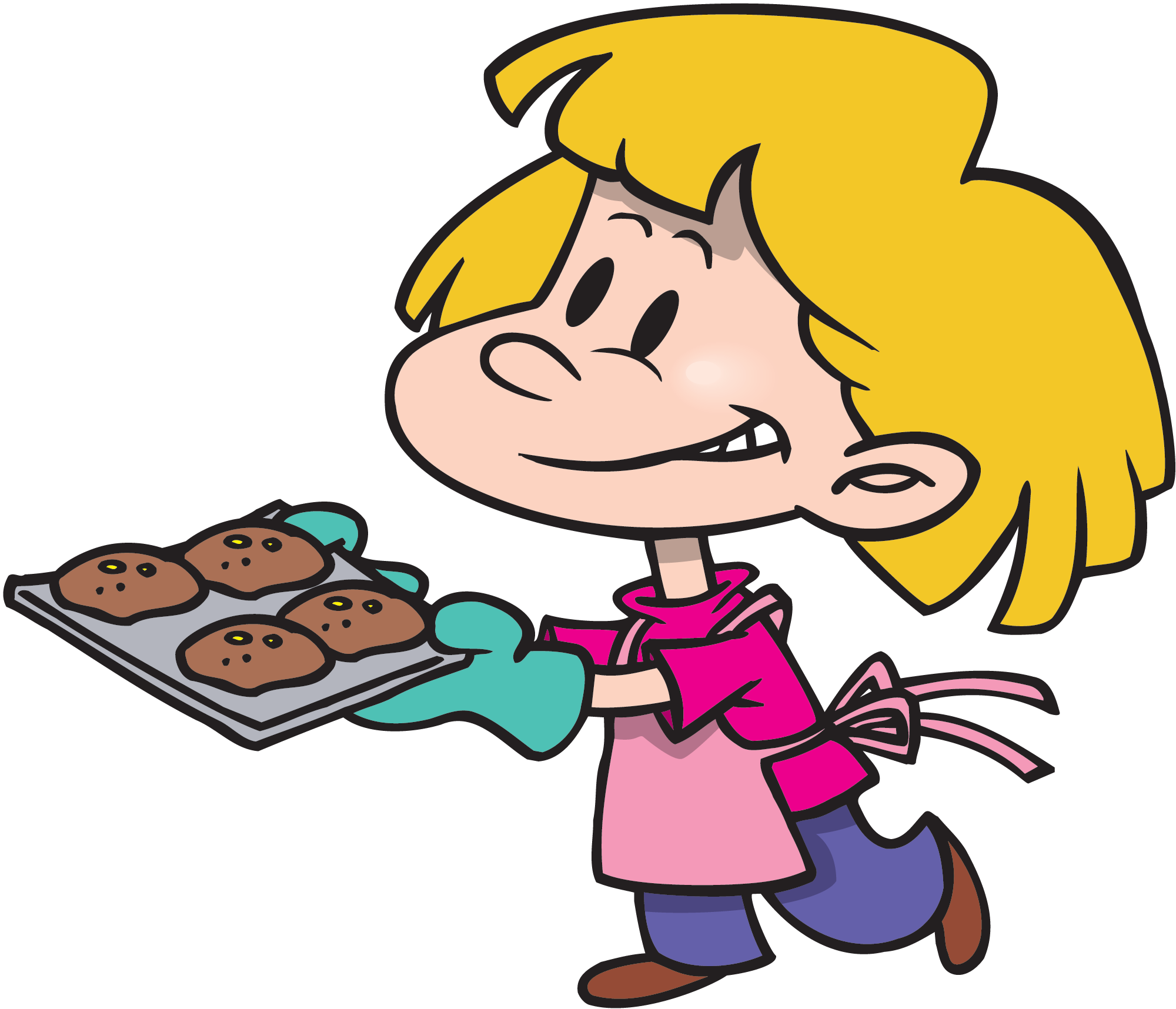 Clipart Kids Cooking 20 Free Cliparts