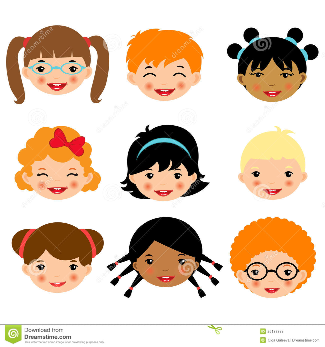 115429 Kids free clipart.