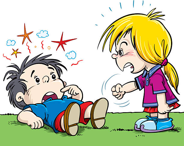 Rude Child Clip Art, Vector Images & Illustrations.