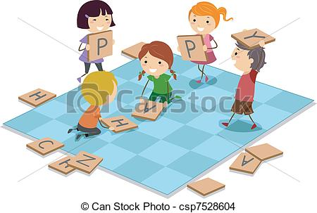 EPS Vector of Board Game.