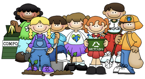 Kids Learning Clipart.