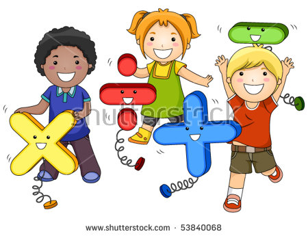 Kids Math Stock Images, Royalty.