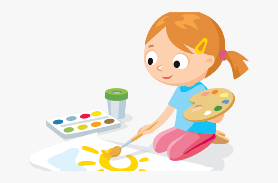 Free Png Download Kids Painting Clipart Png Png Images.