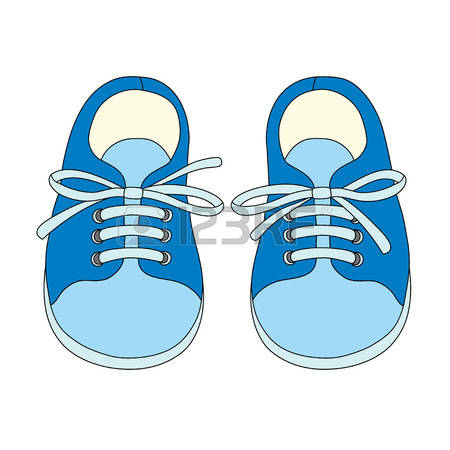 clipart kids shoes - C...