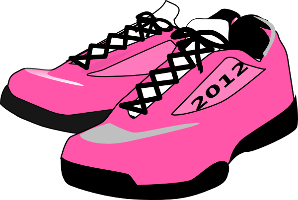 Kids shoes clip art.