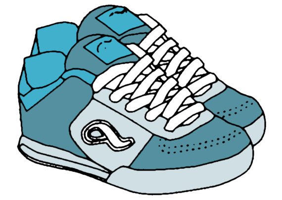 Free Clip art of Tennis Shoes Clipart #3563 Best Kids Tennis Shoes.