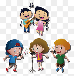 Png Of Child Singing & Free Of Child Singing.png Transparent Images.