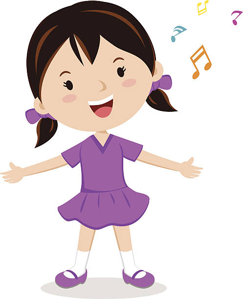 Kid singing clipart 6 » Clipart Station.