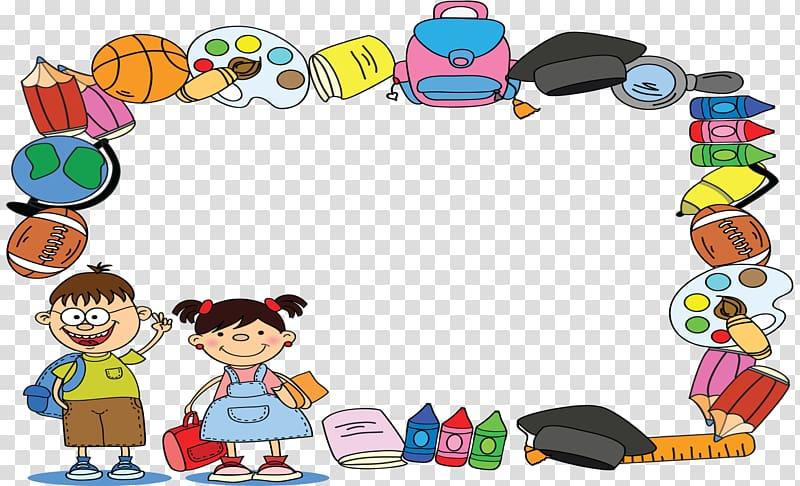 School Cartoon , kindergarten certificate template.