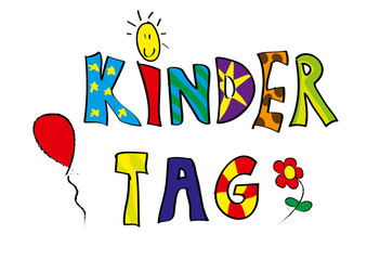 Kindertag graphic.