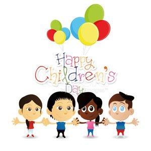 Kindertag Clipart Image.