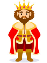 Clipart Medieval King & Free Clip Art Images #30715.