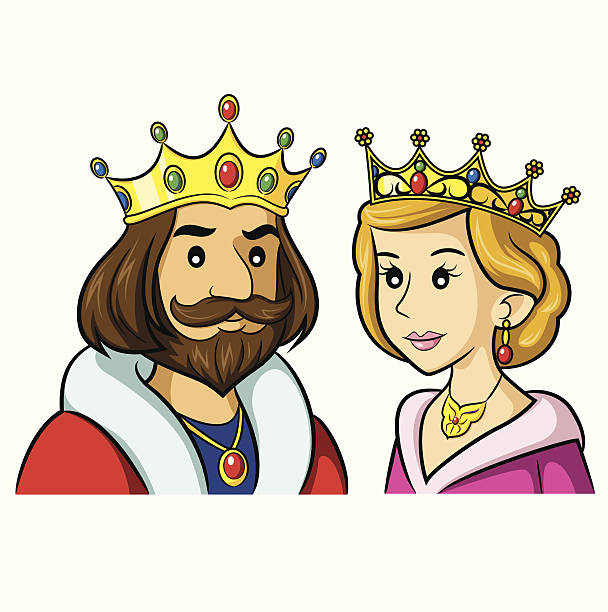 Clipart King And Queen.