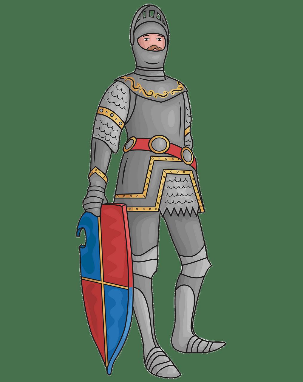 Statue of King Arthur in Innsbruck clipart. Free download.