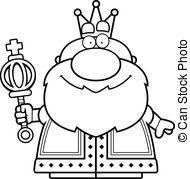 King black and white clipart 3 » Clipart Station.