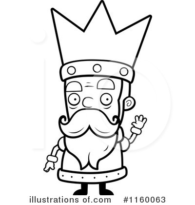 King clipart black and white 1 » Clipart Station.
