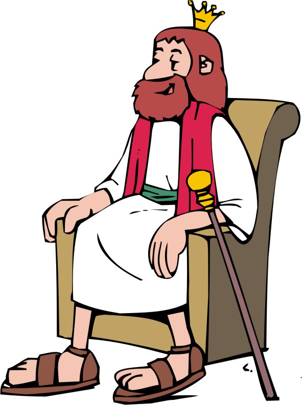 King David Clip Art.