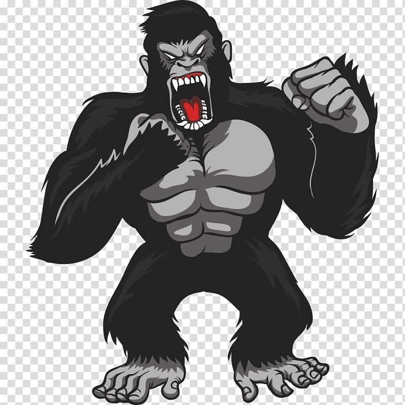 Gorilla graphics T.