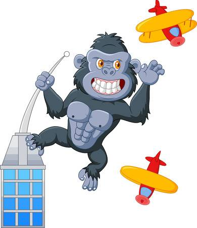 King kong clipart 3 » Clipart Station.