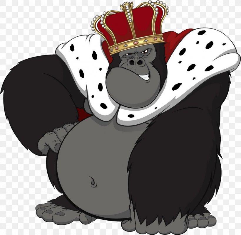 Gorilla Primate King Kong Ape Chimpanzee, PNG, 1000x978px.