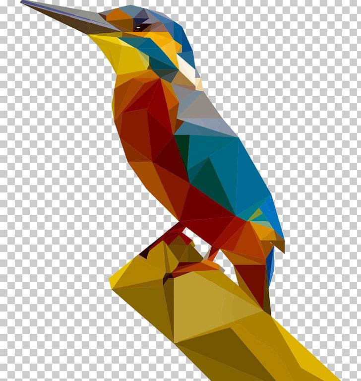 Kingfisher Low Poly Art PNG, Clipart, Art, Beak, Belted.