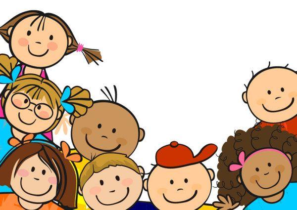 Children Dancing Clipart.