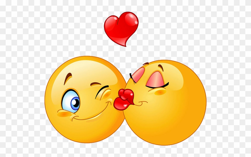 Png Free Library Emoticon Kiss Clip Art Sweet Transprent.