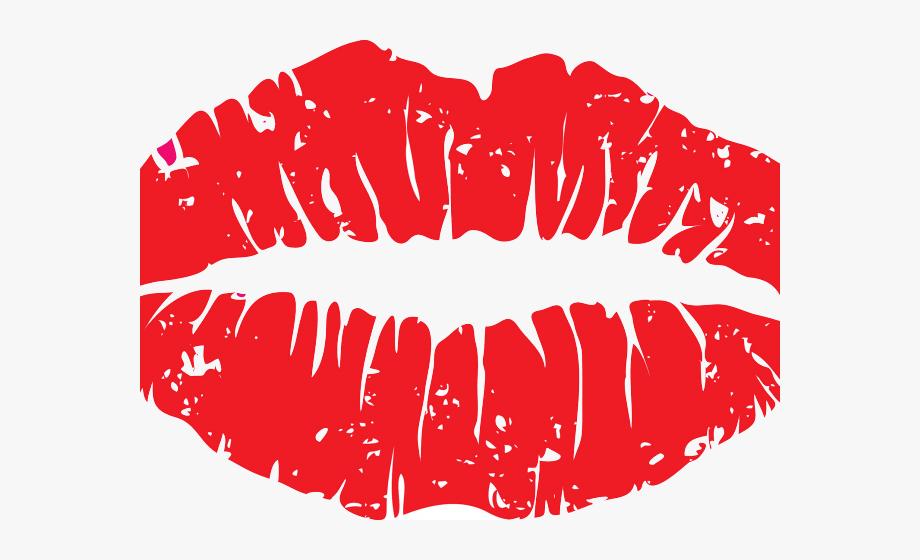 Lips Clipart Kiss Mark.