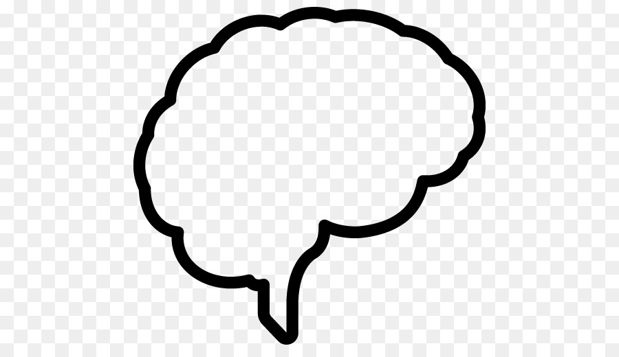 Brain Outline clipart.