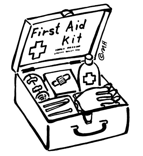 Emergency Kit Drawing.
