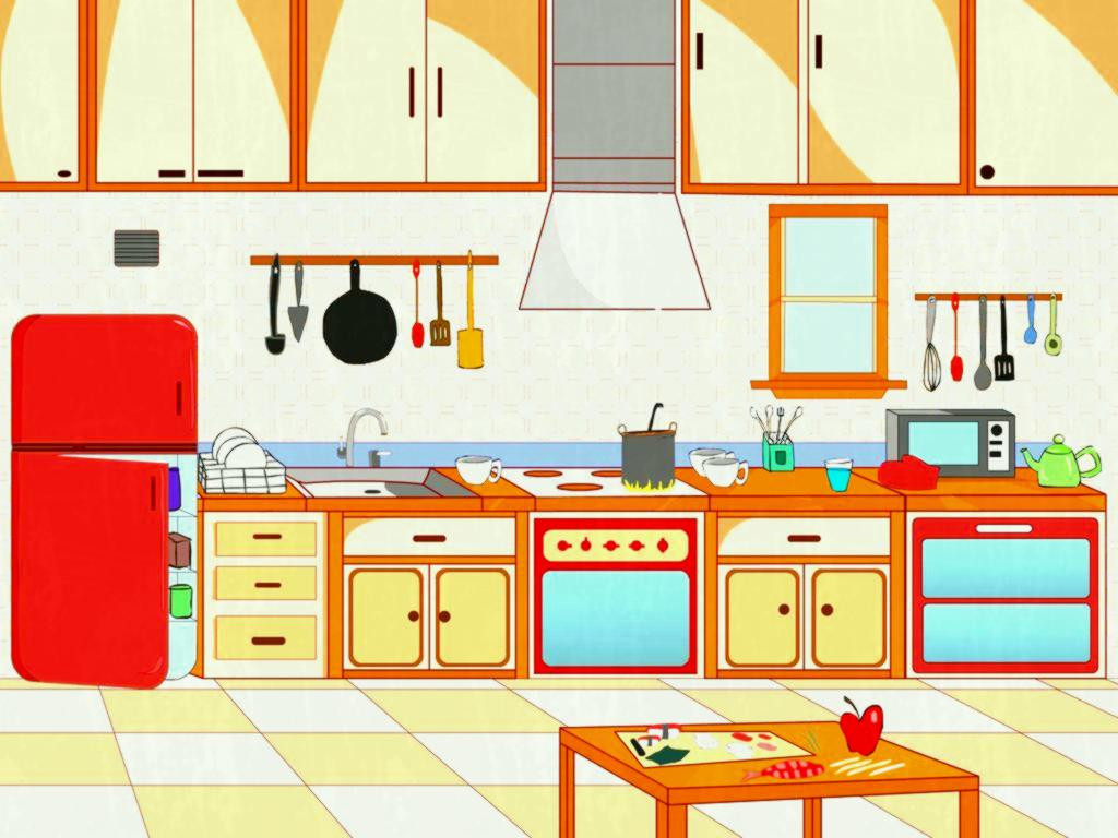 Clipart kitchen kitchen design, Clipart kitchen kitchen.