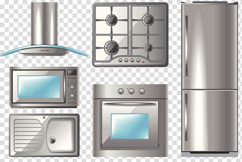 Kitchen Home appliance Exhaust hood Illustration, Kitchen.