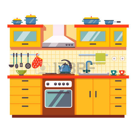 253,343 Kitchen Stock Vector Illustration And Royalty Free Kitchen.